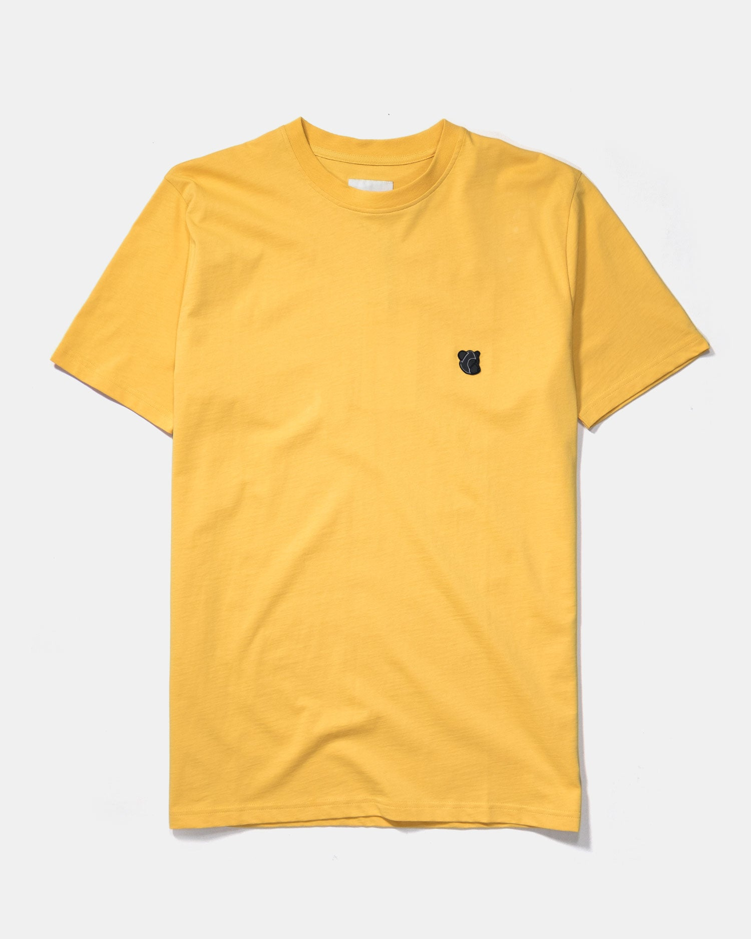 Tonsure Teddy Logo Tee Yellow