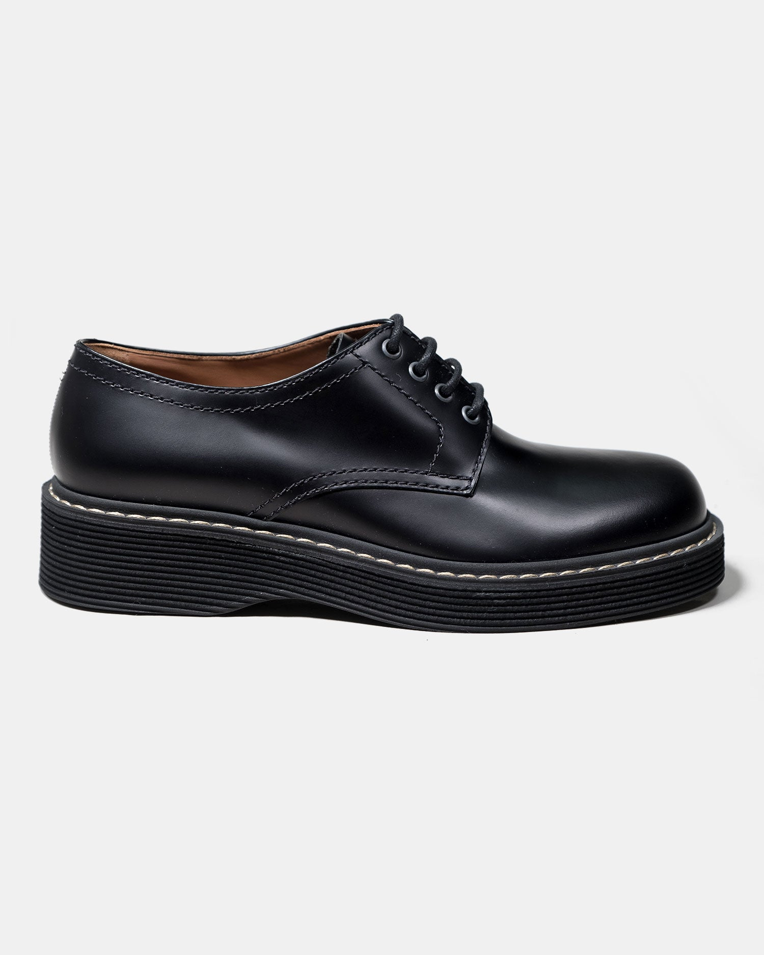 Marni Lace Up Shoe Black
