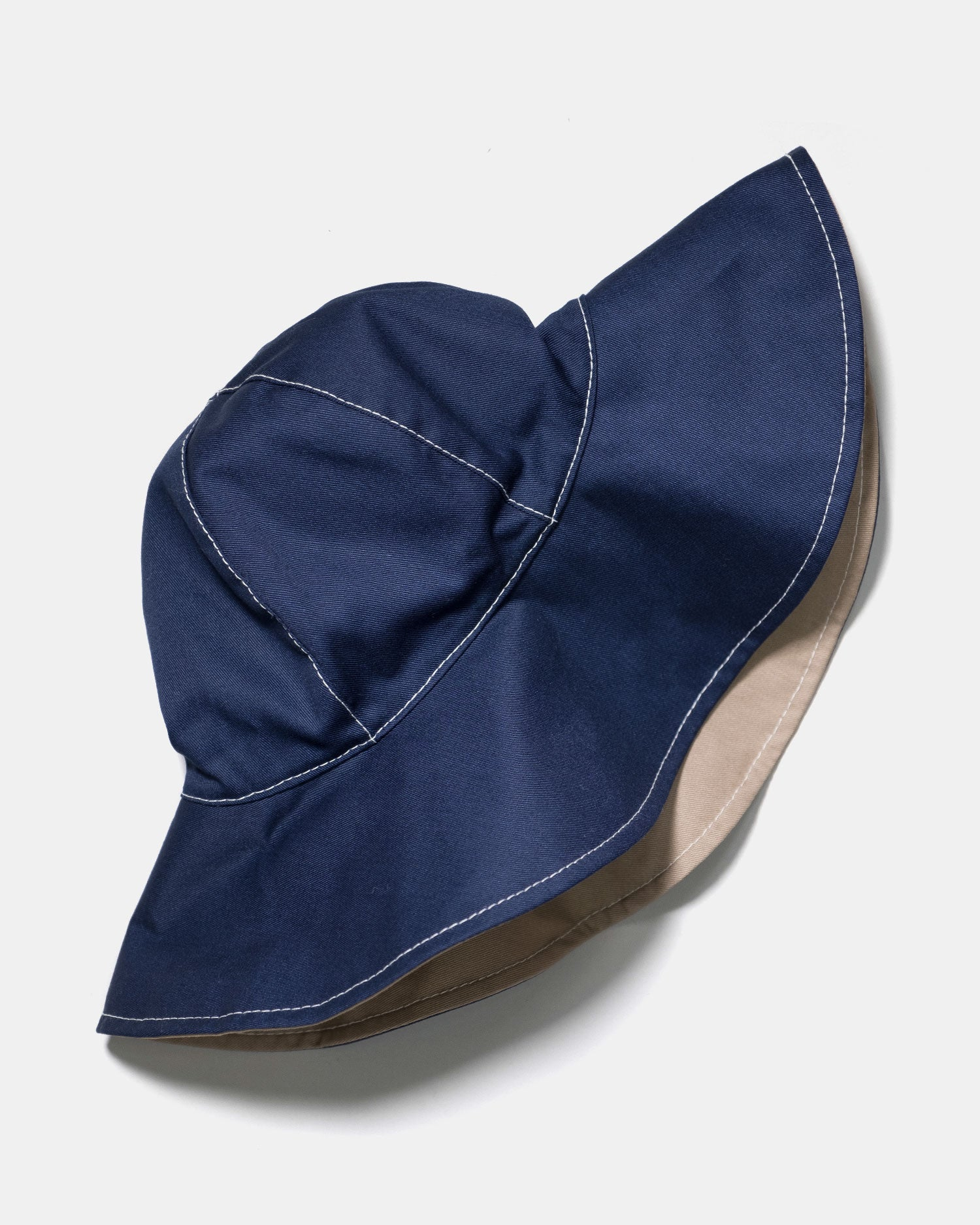 Marni Reversible Floppy Hat Navy