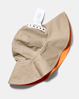 Marni Reversible Floppy Hat Orange