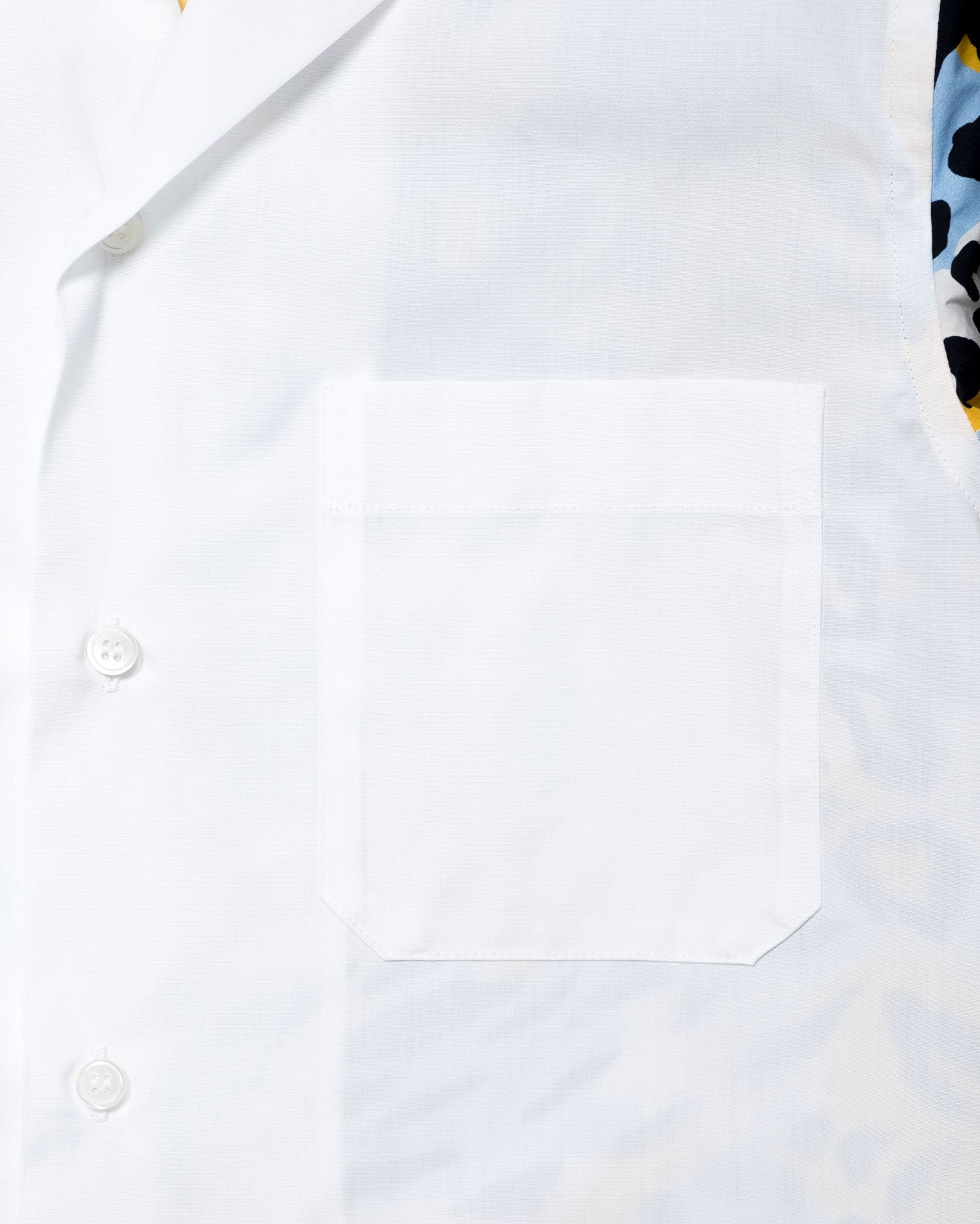 Marni Pattern Block Shirt White/Camoleo