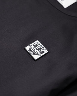 Études x Keith Haring Unity Patch Tee Black