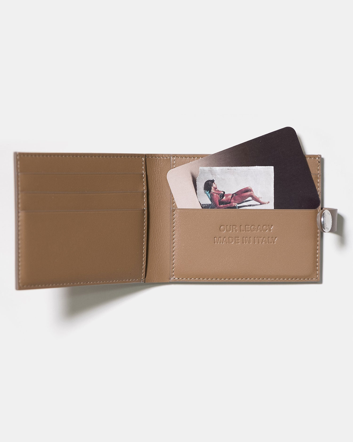 Our Legacy Snap Wallet Mushroom