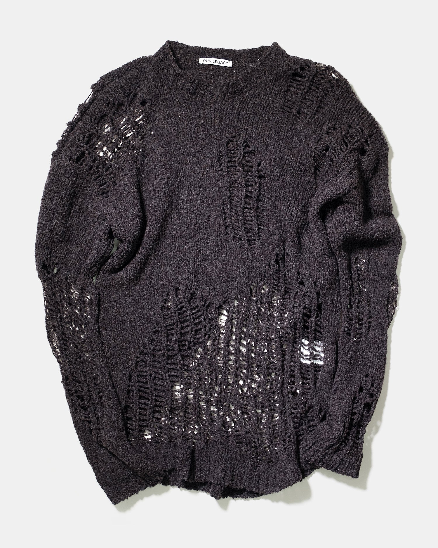 Our Legacy Popover Distressed Sweater