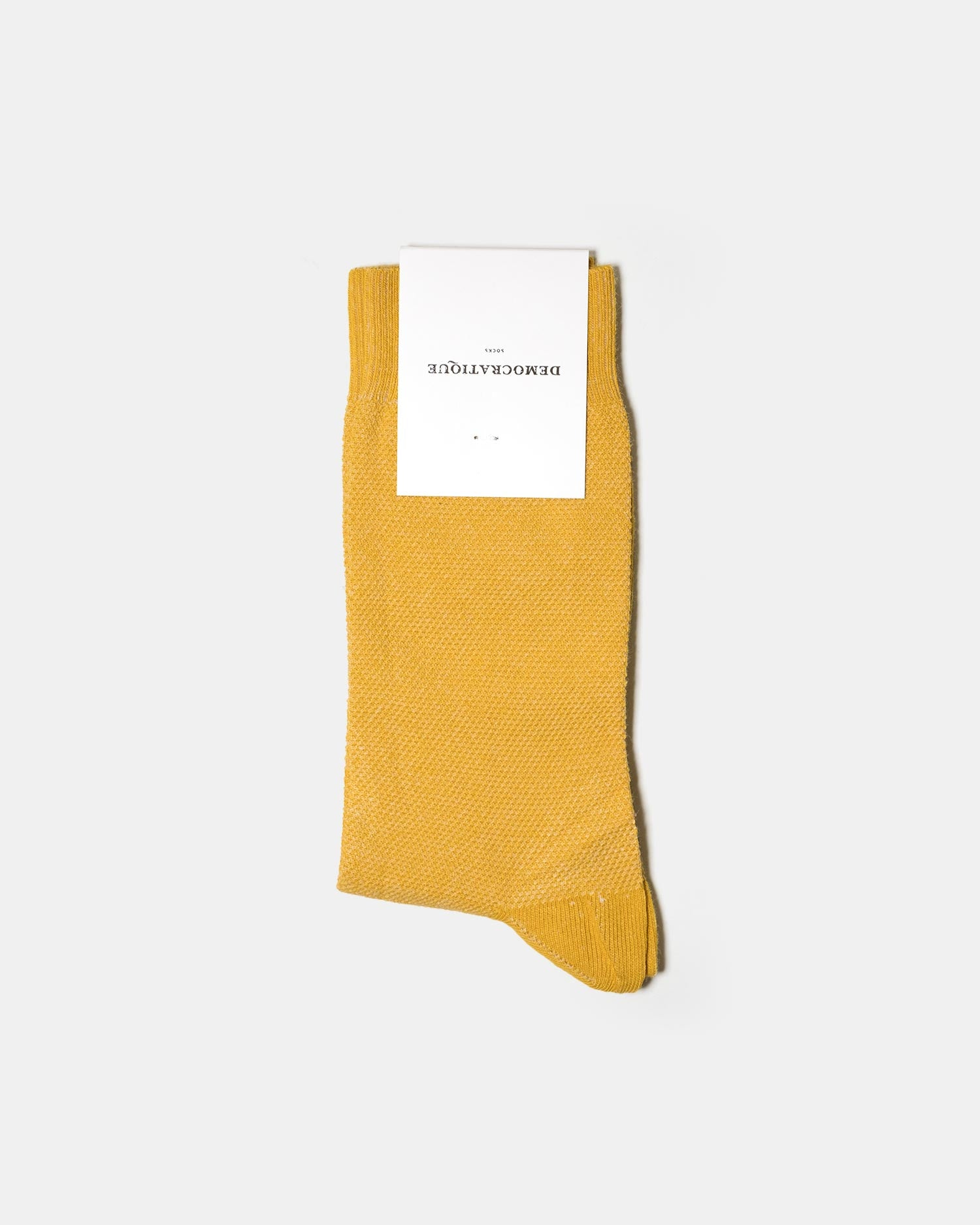 Democratique Pique Socks - Hot Curry
