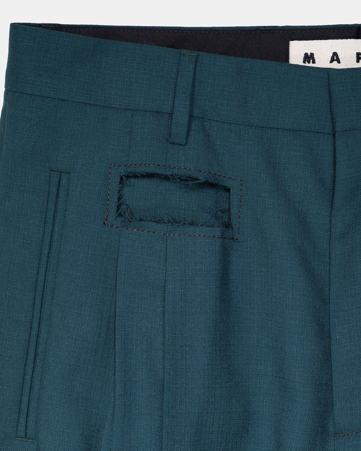 Marni Fresco Split Trousers
