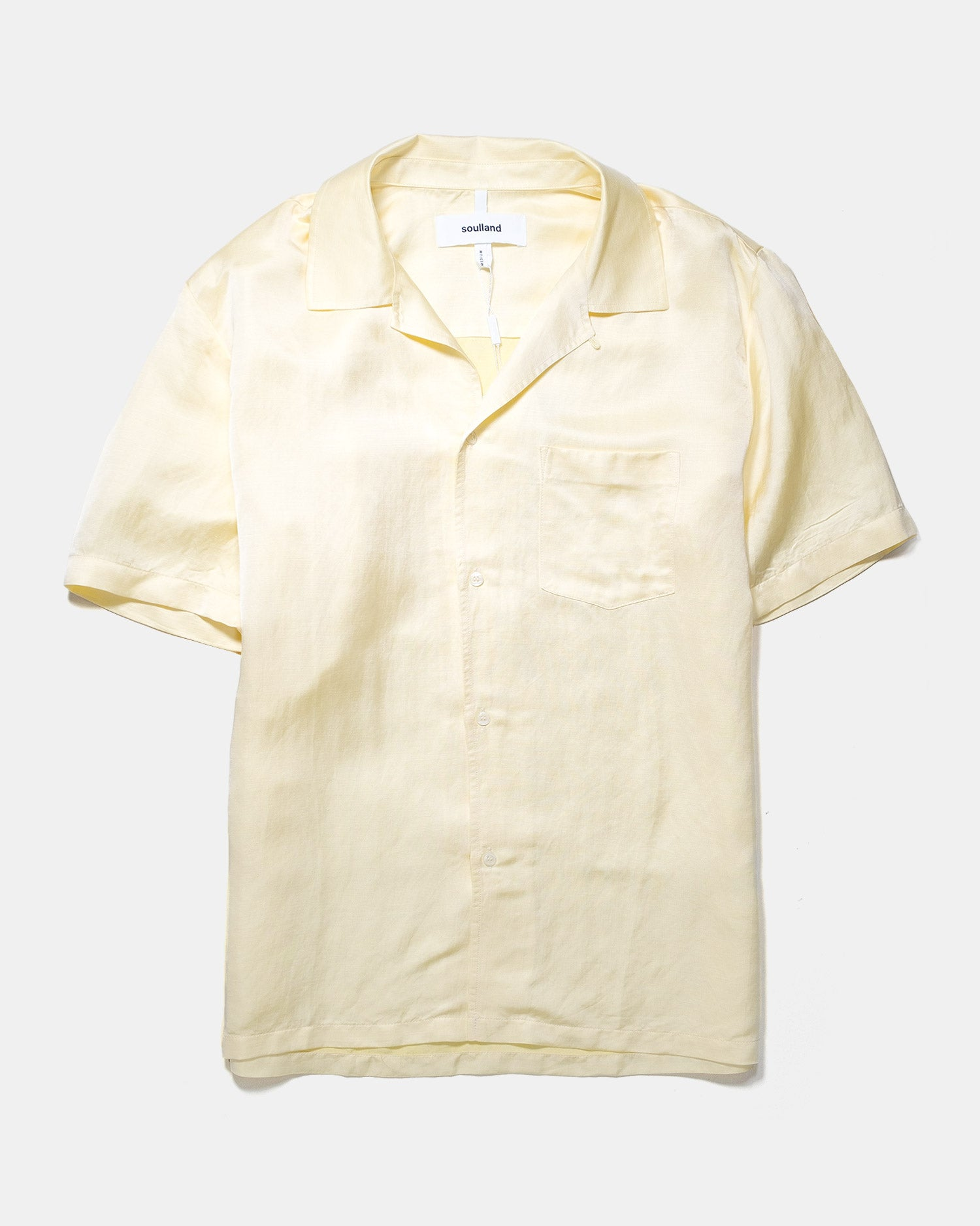 Soulland Ryan Shirt Yellow