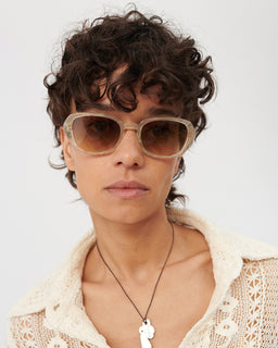 Our Legacy Earth Sunglasses Pearl