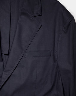 Our Legacy 70's Club Blazer Black Voile