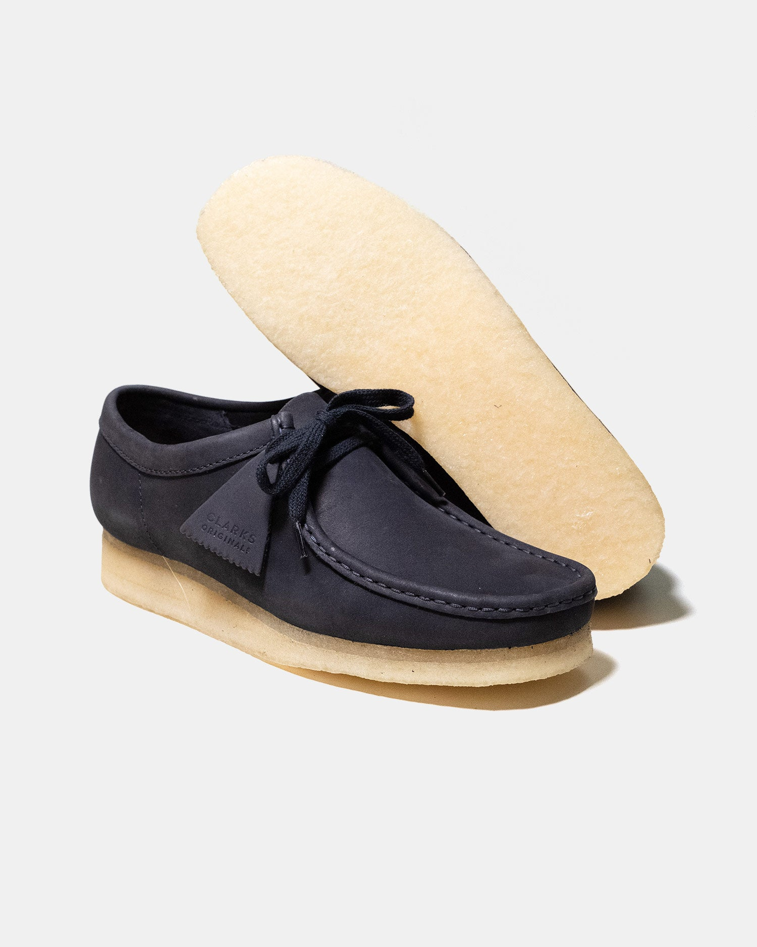 Clarks Wallabee Ink Nubuck