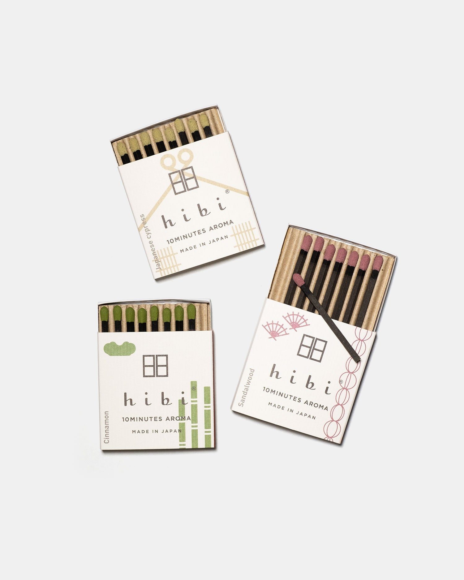 Hibi Incense Gift Set - Traditional Scent