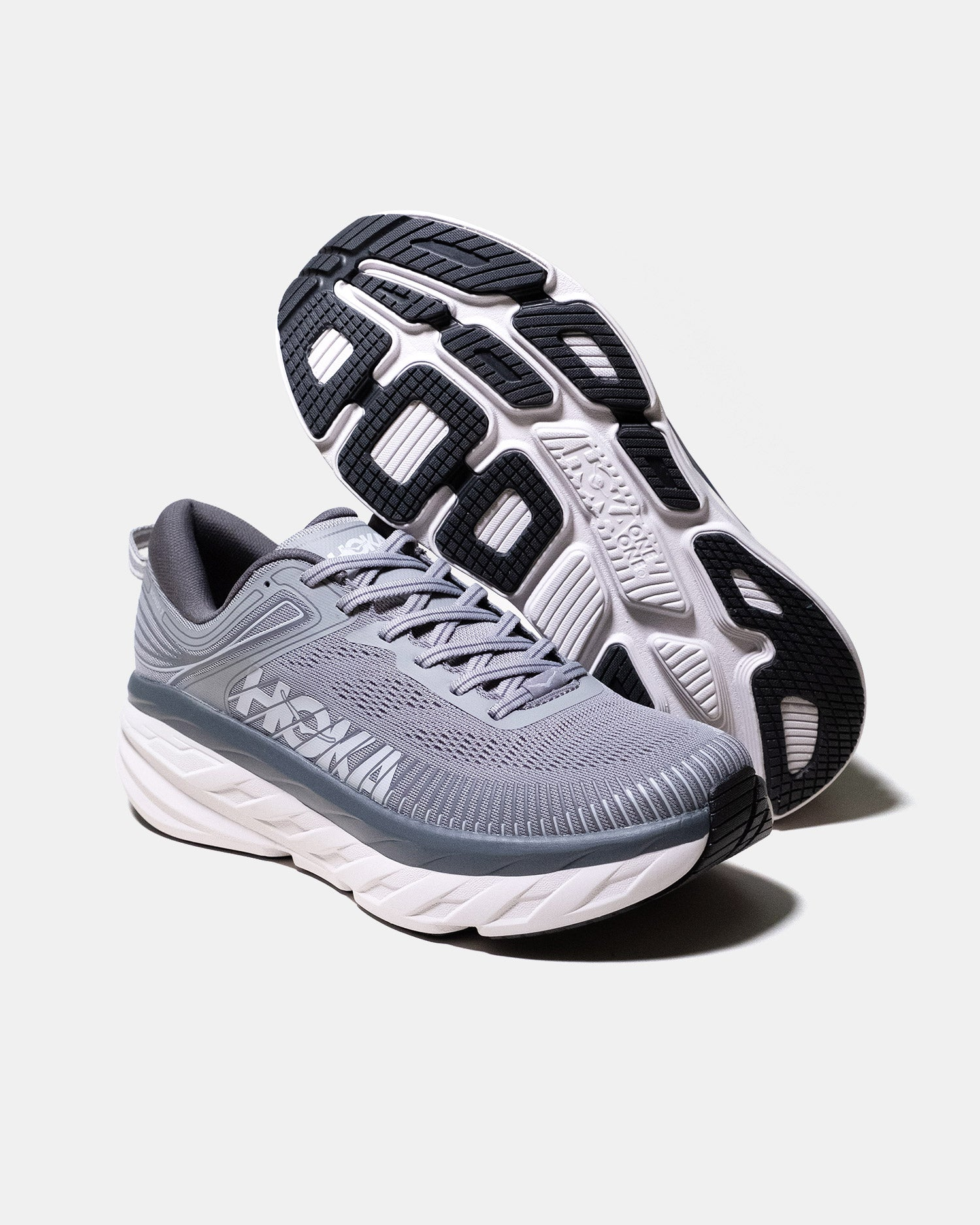 HOKA ONE ONE Bondi 7 Grey