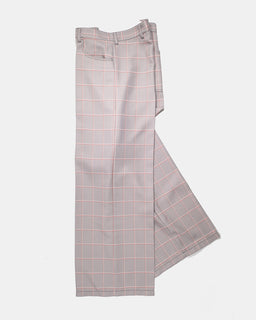 Marni Oversized Trousers Fog Check