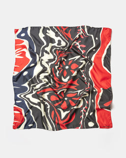 Our Legacy Psychedelic Silk Scarf