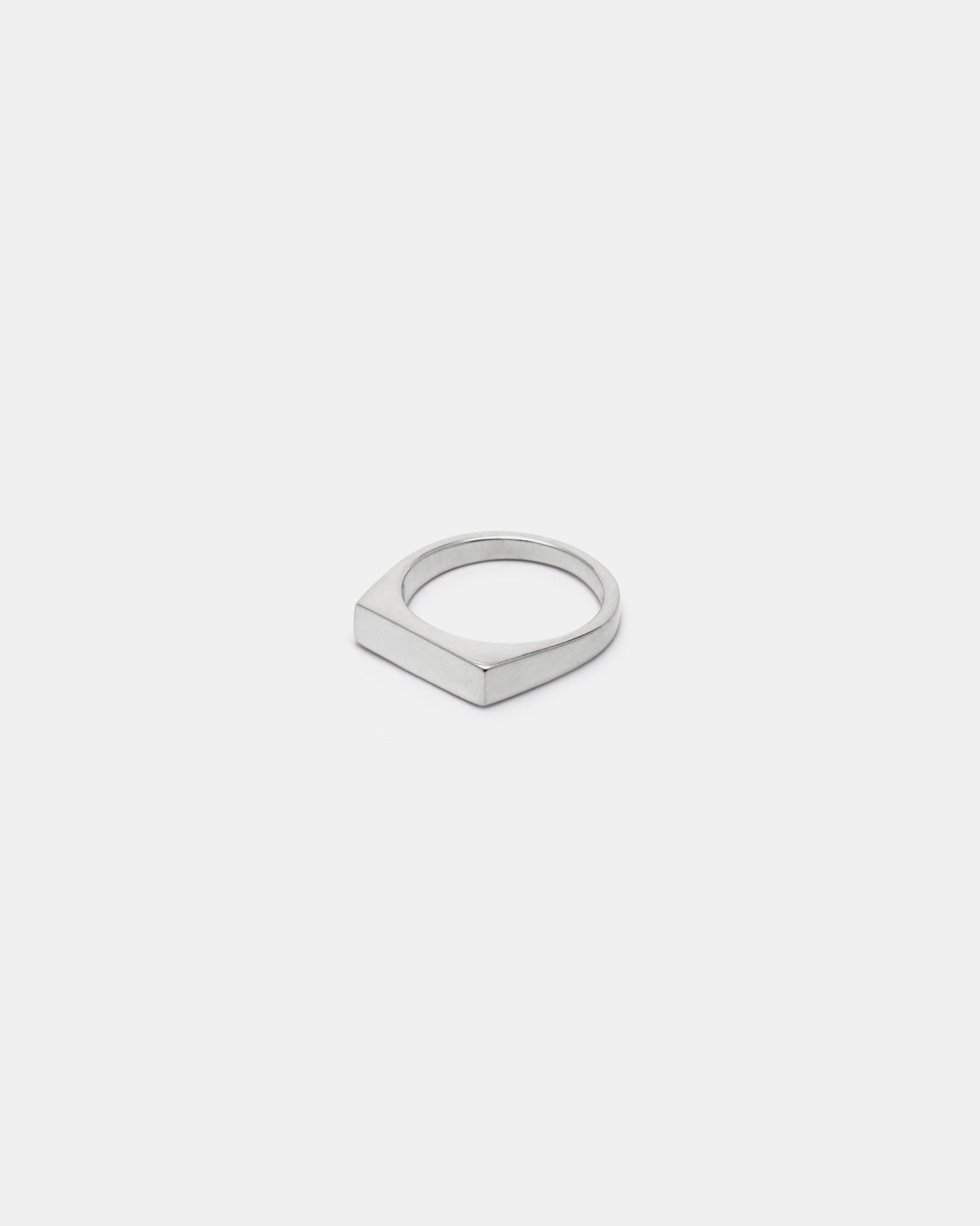Cameron Studio Rectangle Signet Ring