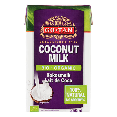 Go-Tan Or­ga­nic Co­conut milk bio