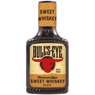 Bulls-eye Sweet whis­key gla­ze