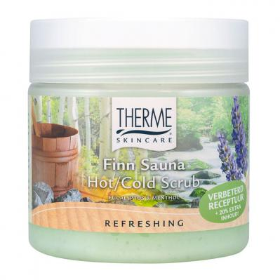 Ther­me Finn sau­na hot cold scrub