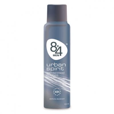 8x4 Ur­ban spi­rit spray (for men)