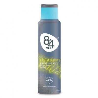 8x4 For men deo­spray dis­co­ve­ry