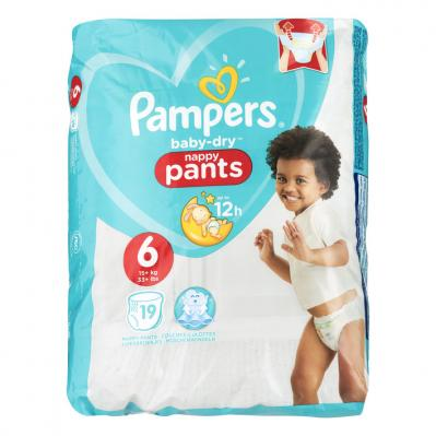 Pam­pers Ba­by-dry Pants maat 6