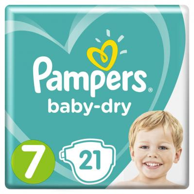 Pam­pers Ba­by-dry maat 7