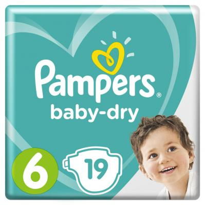 Pam­pers Ba­by-dry maat 6
