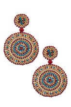 Load image into Gallery viewer, Beaded Drop Earrings