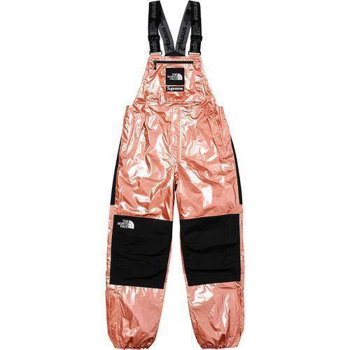 Supreme The North Face Metallic Mountain Bib Pants Rose Gold