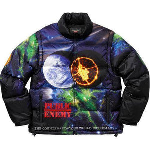 Supreme 18S/S Undercover Public Enemy Puffy Jacket