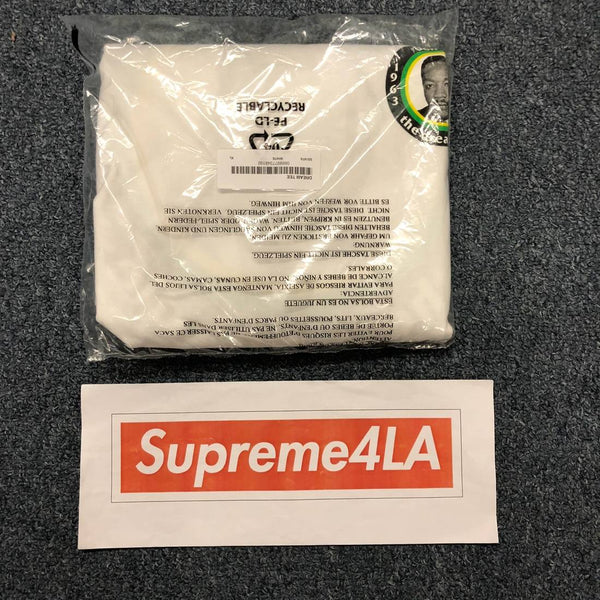 Supreme 18S/S MLK Dream Tee White