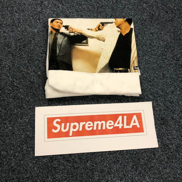 Supreme 18F/W The Killer Trust Tee White