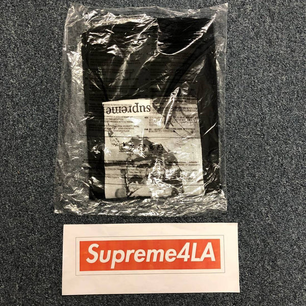 Supreme 18S/S F*ck Face Tee Black