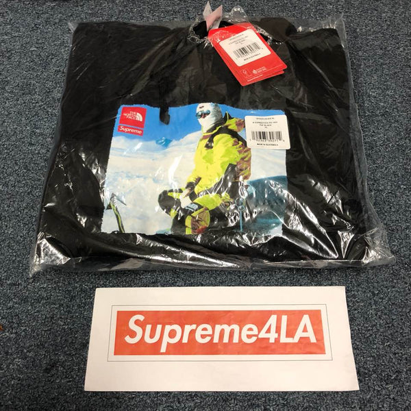Supreme 18F/W The North Face Photo Hooded Sweatshirt Black XL