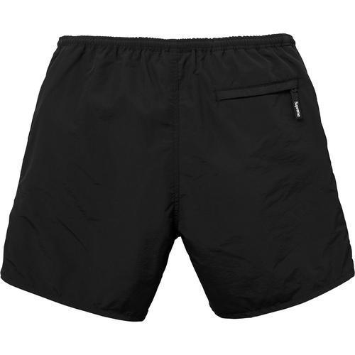 Supreme 18S/S Nylon Water Short Black Small Box Logo