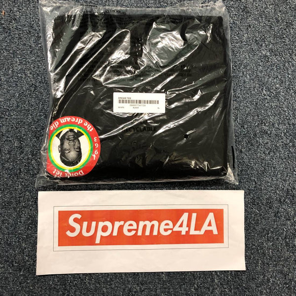 Supreme 18S/S MLK Dream Tee Black