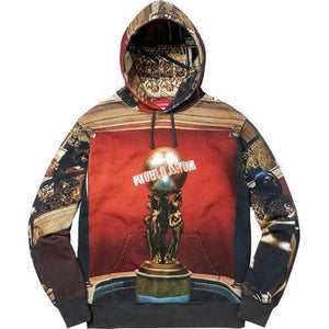 Supreme 17F/W Scarface The World is Yours Hooded Sweatshirt