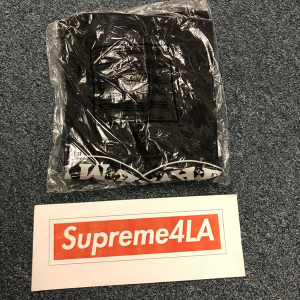 Supreme 18F/W Eternal Tee Black