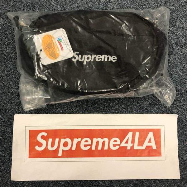Supreme 18F/W Waist Bag Black
