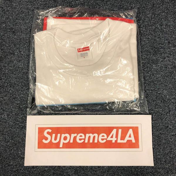Supreme 18F/W Group Tee White