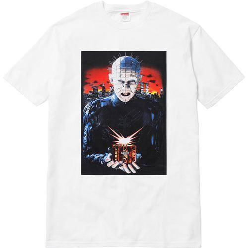 Supreme 18S/S Hellraiser Hell on Earth Tee White