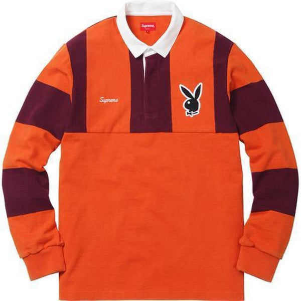 Supreme 17F/W Playboy Rugby Orange