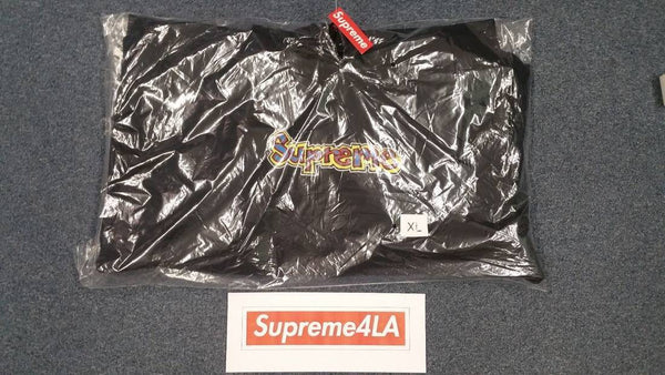Supreme 18S/S Gonz Logo Hooded Sweatshirt Black