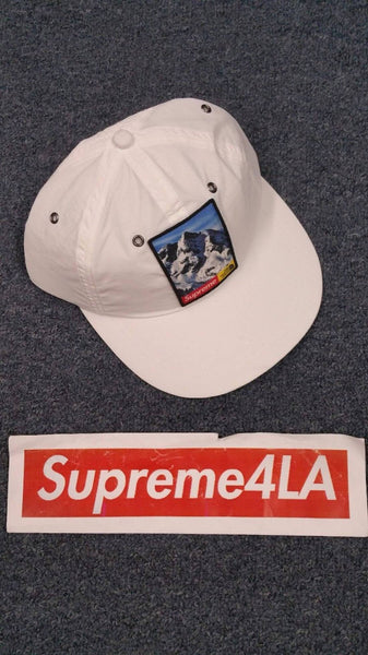 Supreme 17F/W The North Face Mountain 6-Panel Hat White