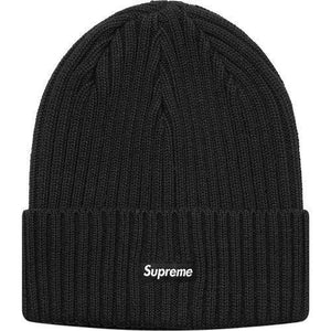 Supreme 18S/S Overdyed Ribbed Beanie Black