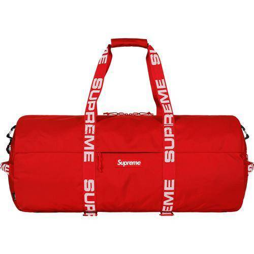 Supreme 18S/S 1050D Cordura Ripstop 60L Large Duffle Bag Red