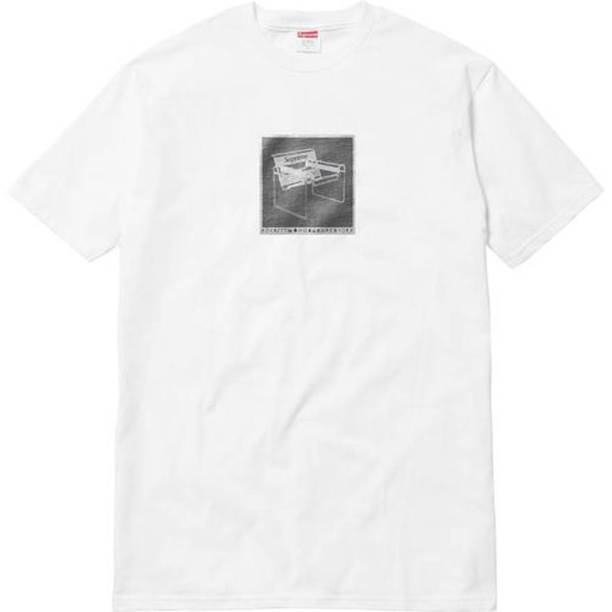 Supreme 18S/S Chair Tee White