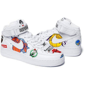Supreme 18S/S Nike NBA Teams Air Force 1 Mid White