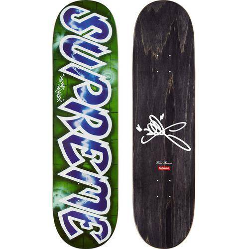 Supreme 18S/S Lee Logo Skateboard Deck Blue