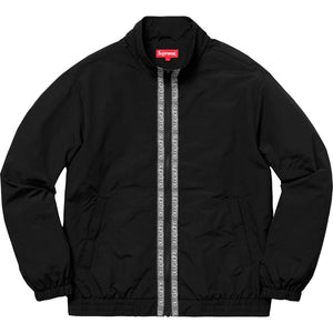 Supreme 18S/S Classic Logo Taping Track Jacket Black